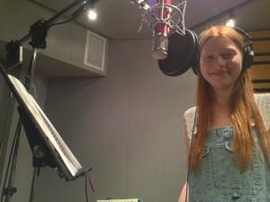 at the mic ...